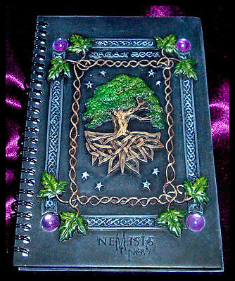 WICCAN BOOK of SHADOWS & DREAMS Gothic/Wicca/Pagan/Witchcraft NEMESIS NOW