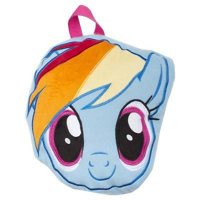Official My Little Pony Travel Blanket Shaped As Dash Head With Carry Handles