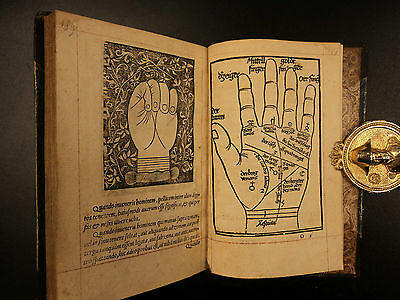 1536 Chiromancy della Rocca Cocles Palmistry Necromancy Prophecy Occult Science