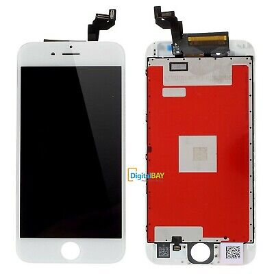 Touch Screen + Lcd Display + Frame Per Apple Iphone 6S Plus Vetro Schermo Bianco
