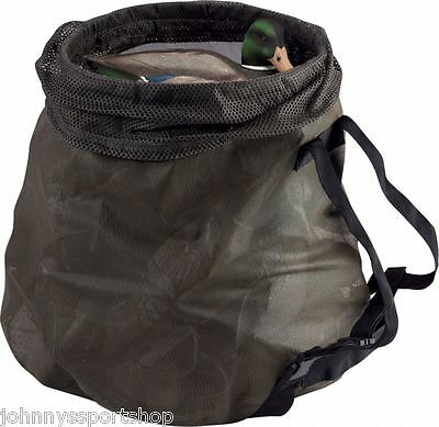 """Drake Waterfowl Olive Mesh """"big Mouth"""" Decoy Bag Duck Goose Decoys New"""