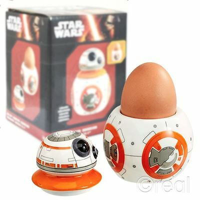 New Star Wars VII The Force Awakens BB-8 Ceramic Egg Cup Droid Soldiers Official