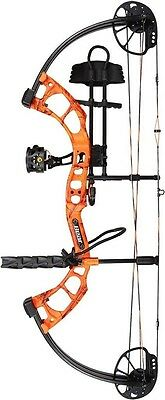 New 2016 Bear Archery Cruzer RTH 5-70# RH Orange Bow Package