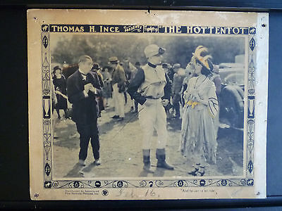 1922 The Hottentot - Lobby Card - Horseracing - Silent Comedy - Madge Bellamy