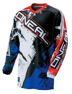 "Maglia cross | enduro O'NEAL bimbo ""Element"" youth SHOCKER black/red/blue ""S"""