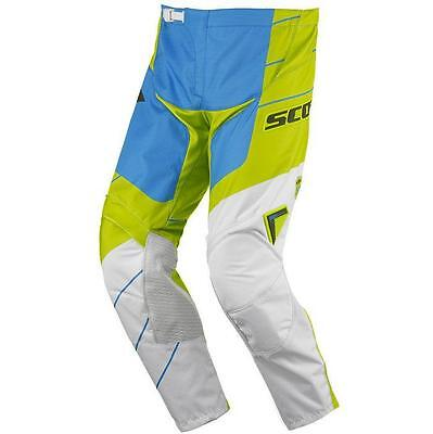 Pantaloni cross | enduro SCOTT pant 350 Race green / blue 36