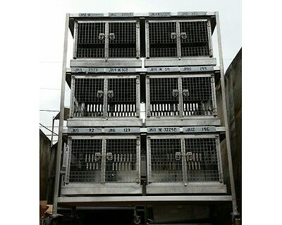 Stainless Veterinary Cages