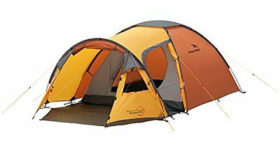 (TG. 3 persone) Arancione - Orange/Gold Easy Camp-Eclipse 300, Tenda da campeggi