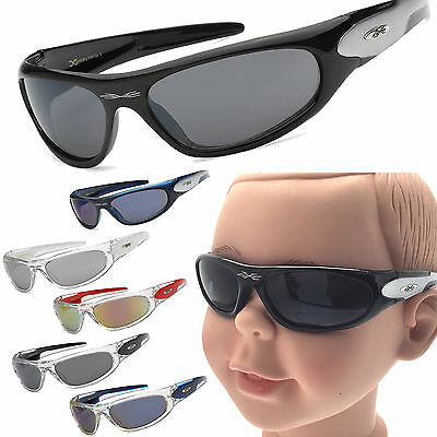 Boys Kids Children Sunglasses X-loop Sport Wrap Ages 3-12 100% UV400
