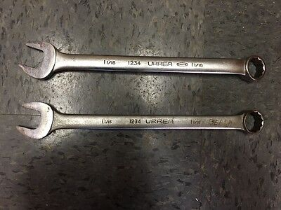 """LOT2 URREA by PROTO 1234 1-1/16"""" 12 POINT COMBINATION WRENCH 26.9MM"""