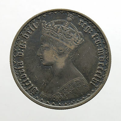 Great Britain 1 Florin 1856 Victoria.