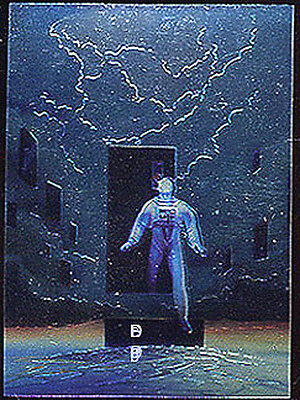The Ultimate Enemy Chromium Chase Card 6 MICHAEL WHELAN Series 2