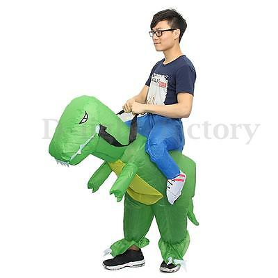 Inflatable Ride On Dinosaur Dress Party Performance Costume Adult Cloth Rider