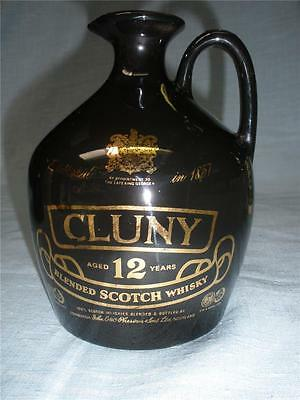 Collectable Pottery Jug Cluny Blended Scotch Whisky