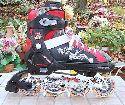 Mongoose Inline Rollerblade Skates Youth Adjustable Size 5-8