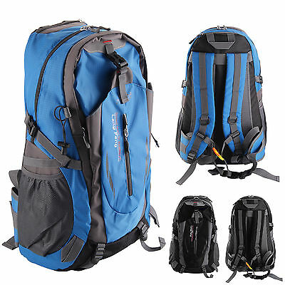 40L Comfortable Outdoor Waterproof Hiking Camping Bag Travel Backpack 2 Colours