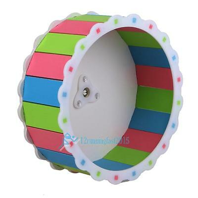 Large Hamster Pet Cage Rat Mice Exercise Running Spinner Wheel Pet Colorful Toy