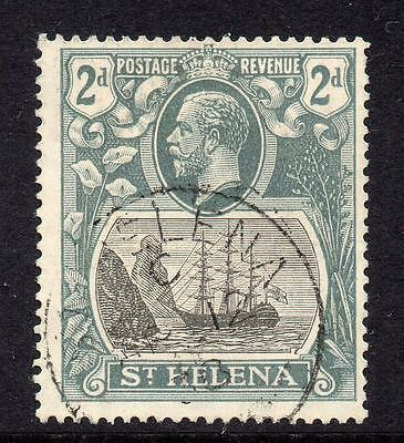 St Helena 2d Stamp c1922-37 Used SG100 (a2)