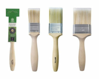 T-Class Delta SR Paint Brushes 100% SRT Filament Medium Soft Various Sizes