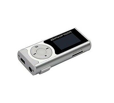 Lettore Mp3 Digital Player Con Memoria Espandibile Radio Fm Luce Torcia hsb