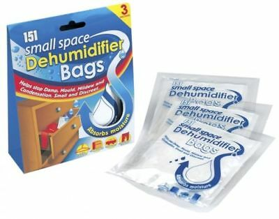 Interior Dehumidifier Bags Moisture Absorber Clothes Drawer Wardrobe Damp Mould