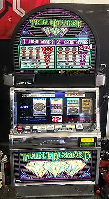"Igt S2000 Coinless Slot Machine ""triple Diamond""  *popular Machine*"