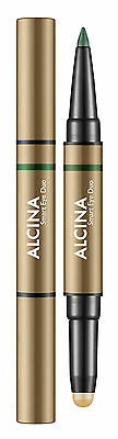 Alcina Beauty To Go Smart Eye Duo golden green