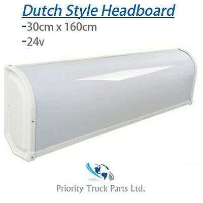 Truck Dutch Style LED Headboard Nameboard 24V - Scania Volvo DAF Mercedes
