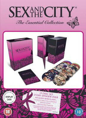 Sex and the City: The Essential Collection - Series 1-6 DVD (2008) Sarah
