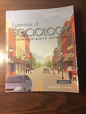 Essentials of Sociology by James M. Henslin (2014, Paperback, 11th Edition)