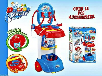 Doctor Trolley Play Set Learning Toy for Children Safe Material  PS70
