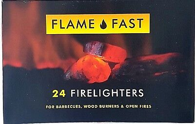 Firelighters Quickfire Smokeless Burners Ovens Stoves BBQ Campfires Fire Lighter
