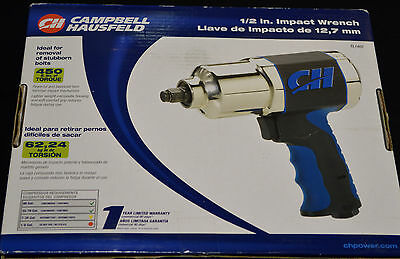 Campbell Hausfeld 1/2 in. Impact Wrench TL1402 - NEW!