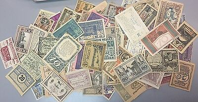 Lot of 116 Pieces - GERMANY NOTGELD COLLECTION
