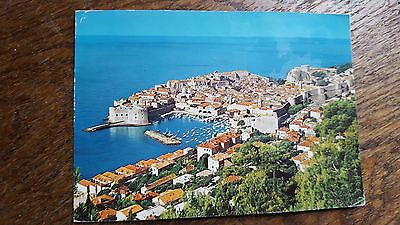 View from above of Dubrovnik Postcard C26