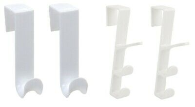 Heavy Duty Over Door Hooks for Clothes Coat Dress Robe Hanger Hanging