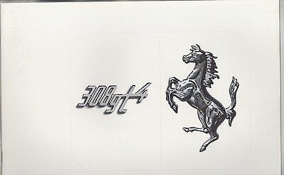 1978 Ferrari 308GT4 Prestige Brochure Italian English French ww4222