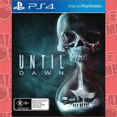 Until Dawn  - PlayStation 4 game - BRAND NEW
