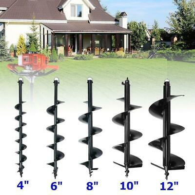 "4"" 6"" 8"" 10"" 12"" Bits Drill for Earth Auger Post Hole Digger Fence Soil Drill"