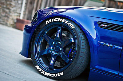 permanent michelin tire lettering 125 for 18 and 19 wheels 4