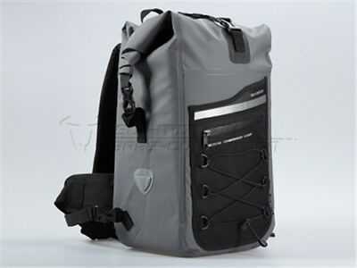 Backpack SW-Motech Drybag 300. Tarpaulin. Waterproof Grey/Black 30 Litre