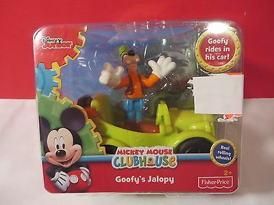 Goofy's Jalopy Mickey Mouse Clubhouse Disney Junior Rare New