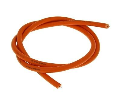 Ignition cable Naraku 7.5mm orange 1m