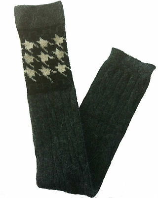 Wool Leg Warmer Boot Socks 1604