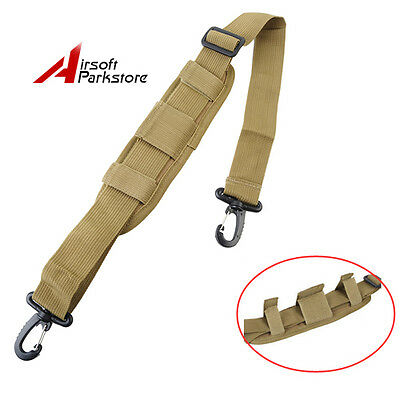 1000D Tactical Nylon Padded Shoulder Strap Pads Replacement for Laptop Bag Tan