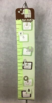 PAPYRUS Elephant GROWTH Chart Hanging