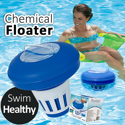BESTWAY 16.5cm Chemical Floater Dispenser Level Controllable Swim Healthy