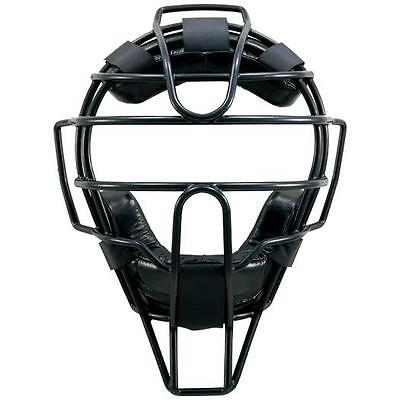 Mizuno PRO Japan Baseball Umpire Catchar Mask with Throat Guard 2QA129 09 Black