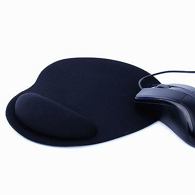 New Wrist Rest PU Base Silica Mouse Pad Comfort Thin Wrist Mat Mice Pad For PC