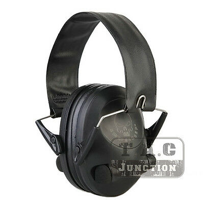 Emerson Tactical Peltor 6S Electronic Headset Hearing Protector Earmuffs+Battery